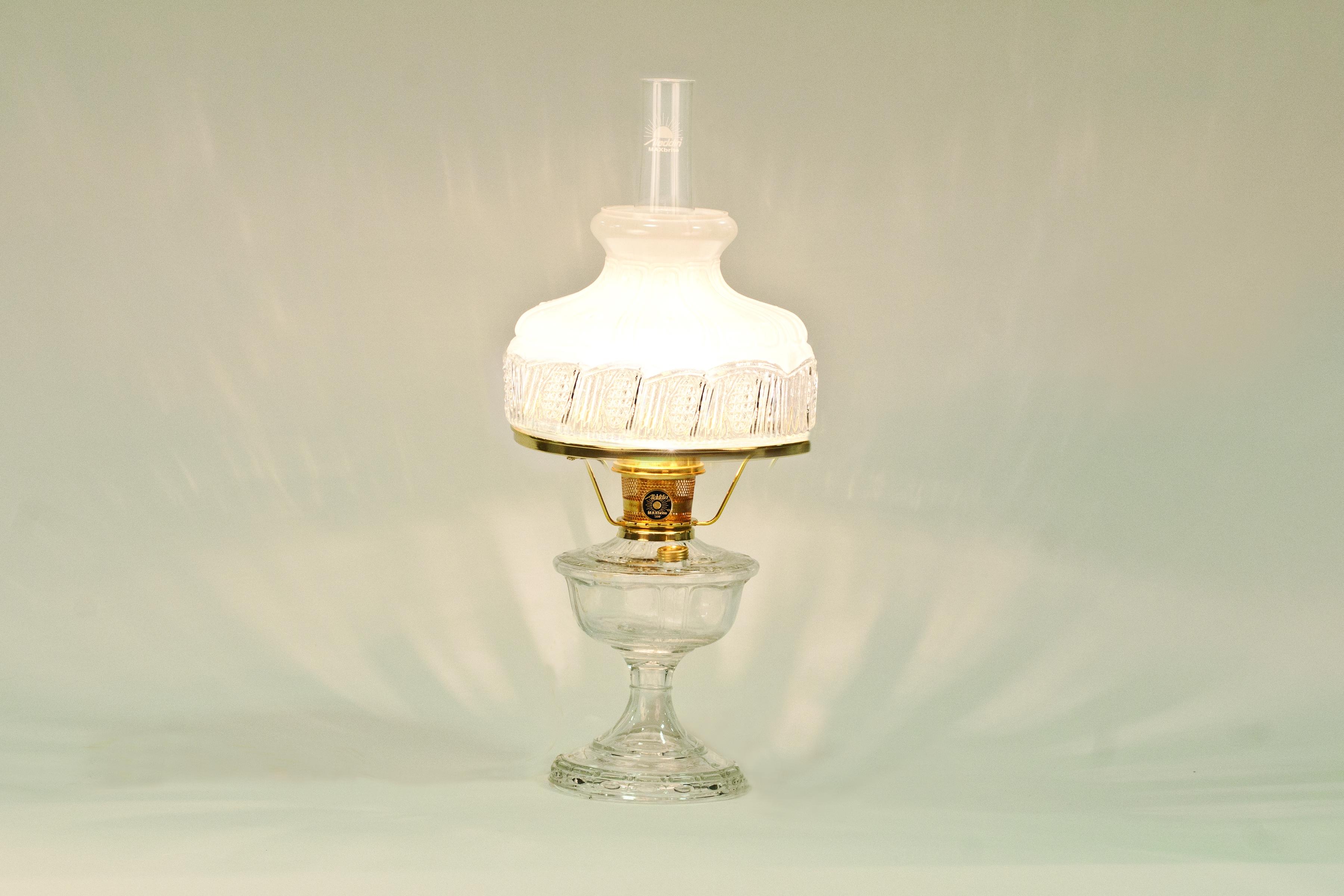 Vc2312b 5019r Aladdin Alexandria Clear Brass Lamp 5019r