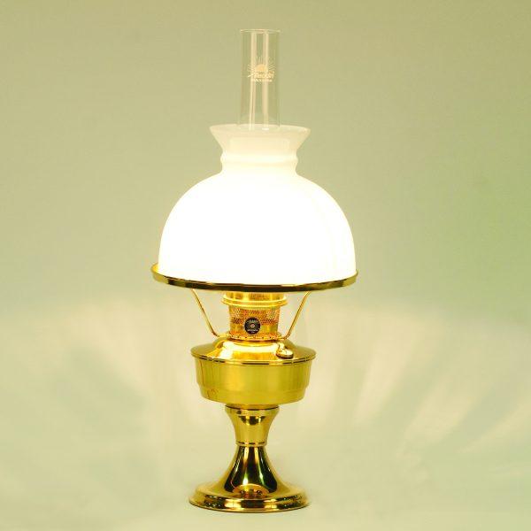 Aladdin Brass Heritage Lamp /540 Shade - Aladdin Lamps Good Pickin's