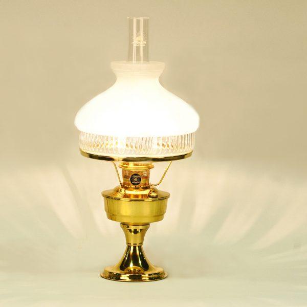 Aladdin brass heritage lamp 601 shade aladdin lamps good pickins aladdin brass heritage lamp 601 shade aloadofball Images